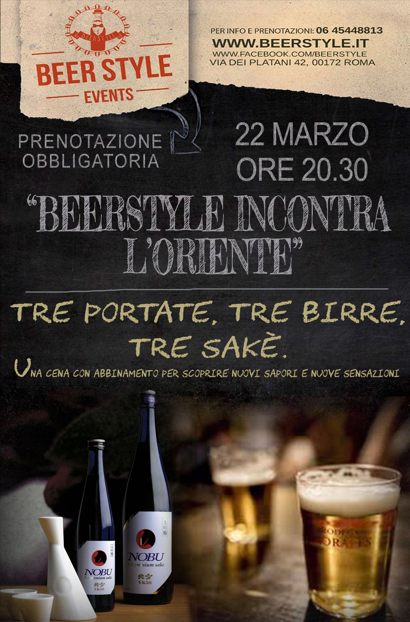 Beerstyle incontra l'oriente